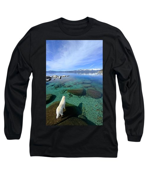On A Clear Day You Can See Forever Long Sleeve T-Shirt