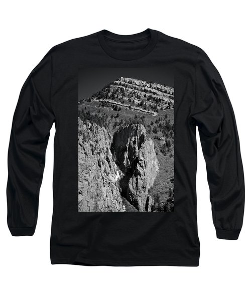 On Sandia Mountain Long Sleeve T-Shirt