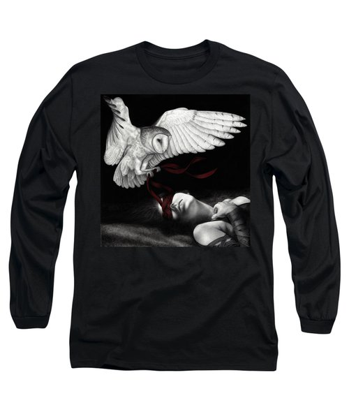 On Silent Wings Long Sleeve T-Shirt