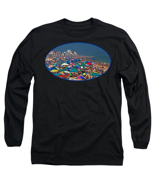 On The Beach In August Long Sleeve T-Shirt