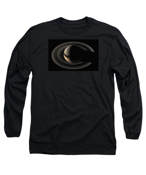 On The Final Frontier Long Sleeve T-Shirt by Nasa