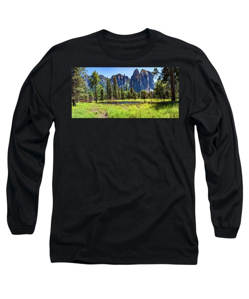 On The Floor Of Yosemite Long Sleeve T-Shirt