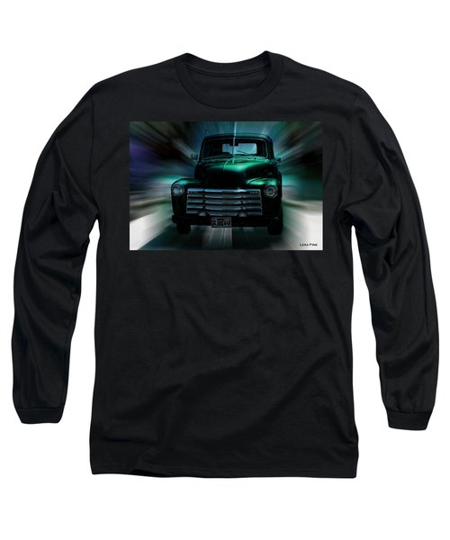 On The Move Truck Art Long Sleeve T-Shirt