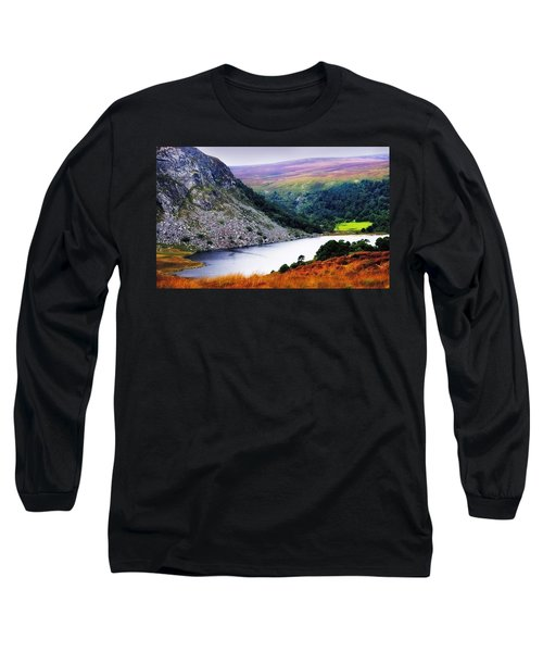 On The Shore Of Lough Tay. Wicklow. Ireland Long Sleeve T-Shirt