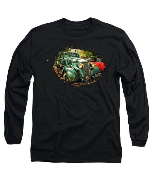 One Cool 1937 Studebaker Sedan Long Sleeve T-Shirt