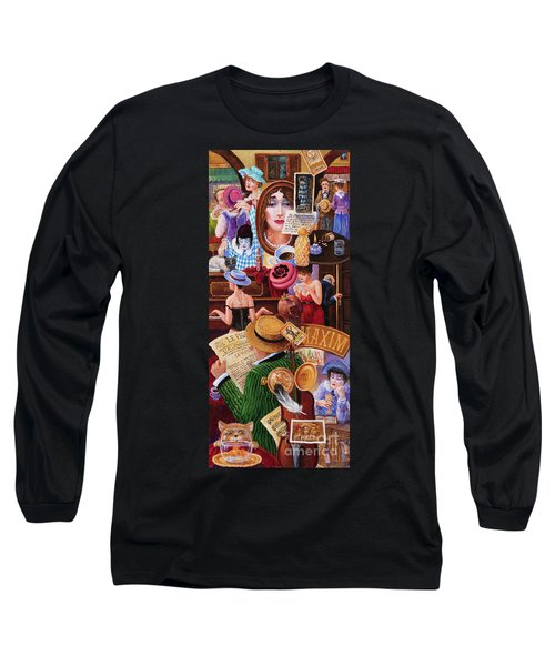 One Day In Paris Long Sleeve T-Shirt