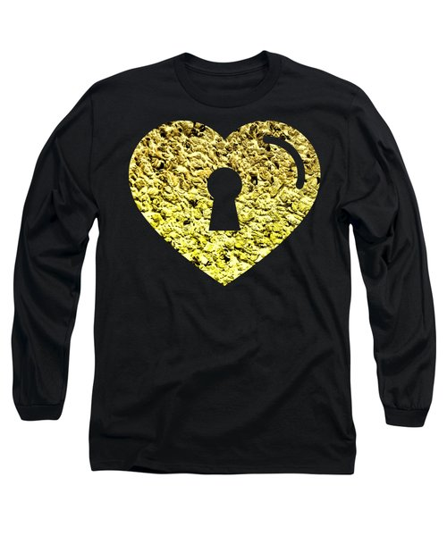 One Heart One Key 2 Long Sleeve T-Shirt