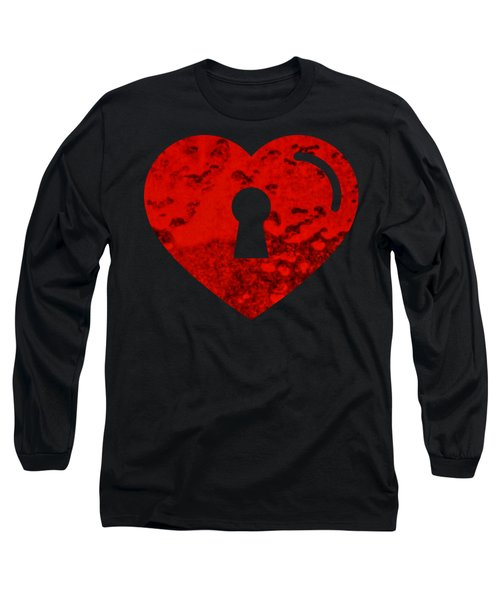 One Heart One Key Long Sleeve T-Shirt