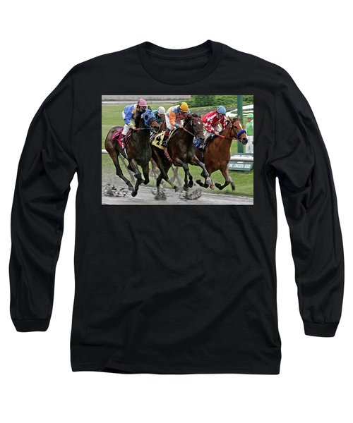 One Hoof Down Long Sleeve T-Shirt