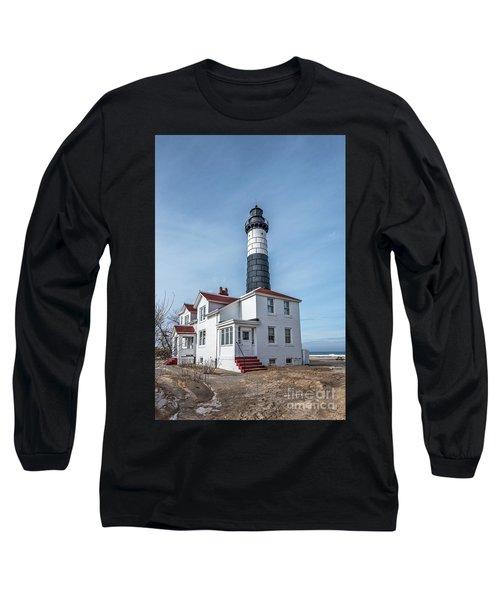 One Hundred Twelve Foot Lighthouse Tower Long Sleeve T-Shirt