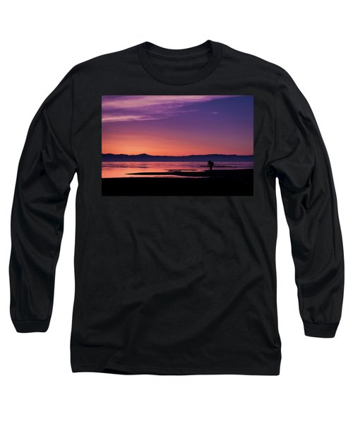 One More Shot Long Sleeve T-Shirt by Ralph Vazquez