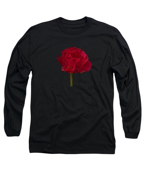 One Red Flower Tee Shirt Long Sleeve T-Shirt
