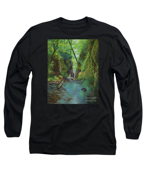 Oneonta Gorge Long Sleeve T-Shirt