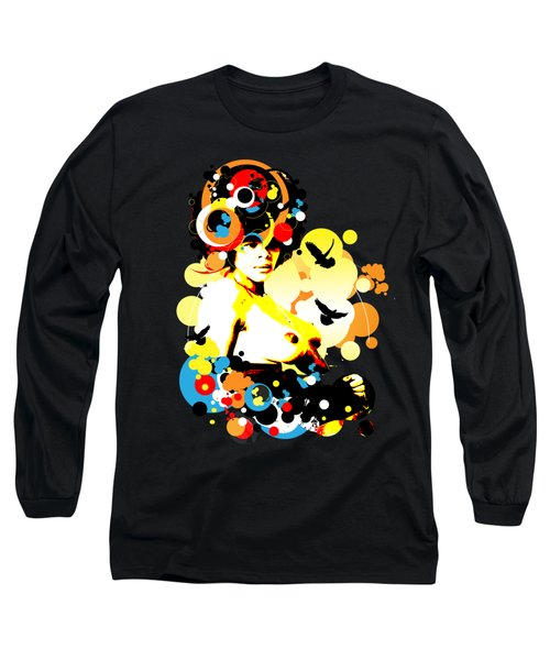 Onyx Doves Long Sleeve T-Shirt