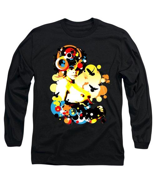 Onyx Doves Long Sleeve T-Shirt