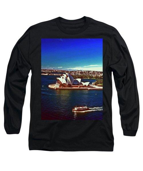 Opera House Sydney Austalia Long Sleeve T-Shirt