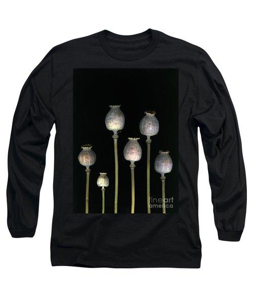 Opiates Long Sleeve T-Shirt by Christian Slanec