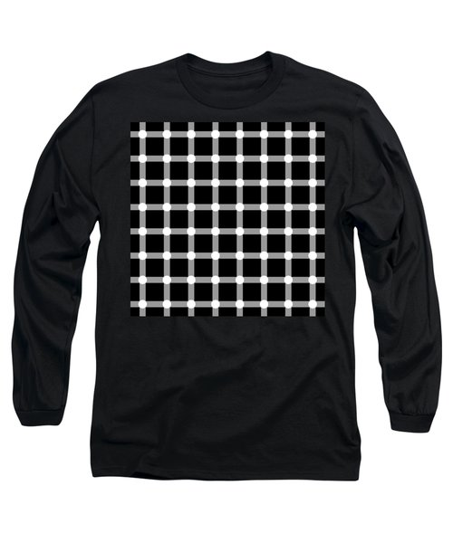 Optical Illusion The Grid Long Sleeve T-Shirt
