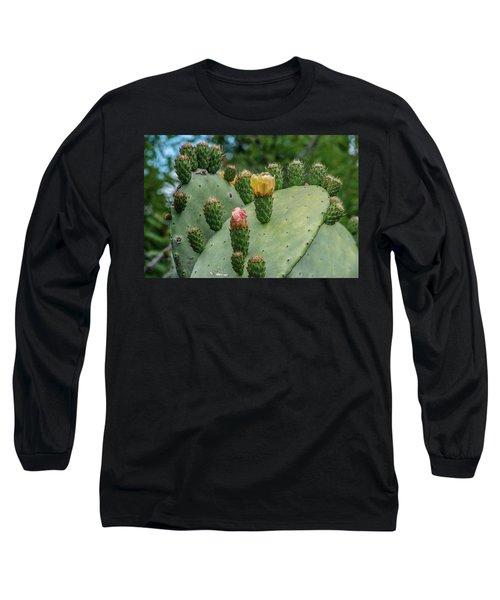 Opuntia Cactus Long Sleeve T-Shirt