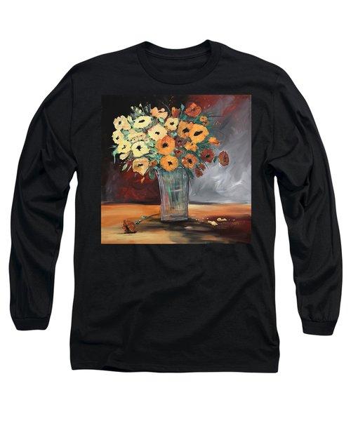 Orange Blossoms Long Sleeve T-Shirt