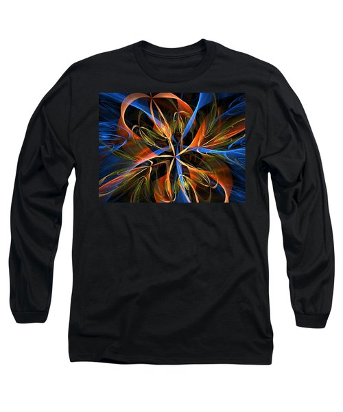 Orange Ribbons Long Sleeve T-Shirt