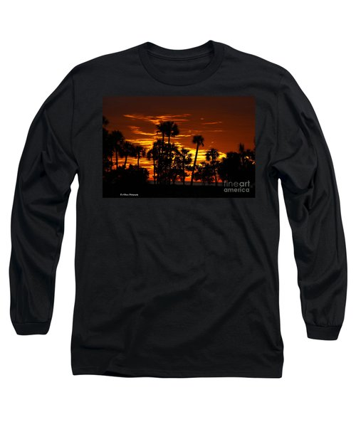 Orange Skies Long Sleeve T-Shirt