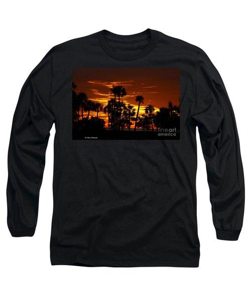 Orange Skies Long Sleeve T-Shirt