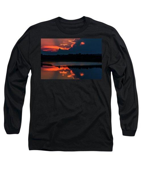 Orange Sky Long Sleeve T-Shirt