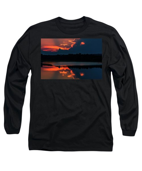 Orange Sky Long Sleeve T-Shirt