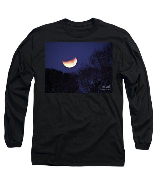 Orange Slice Moon 2018 Long Sleeve T-Shirt