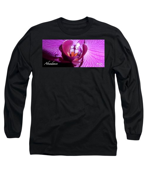 Orchid Abundance Long Sleeve T-Shirt
