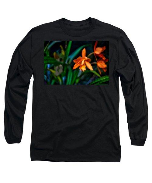 Orchid Garden Long Sleeve T-Shirt