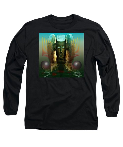 Order And Serenity Long Sleeve T-Shirt