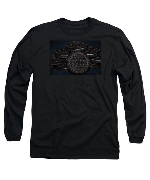 Oreo Cookies Long Sleeve T-Shirt by Rob Hans