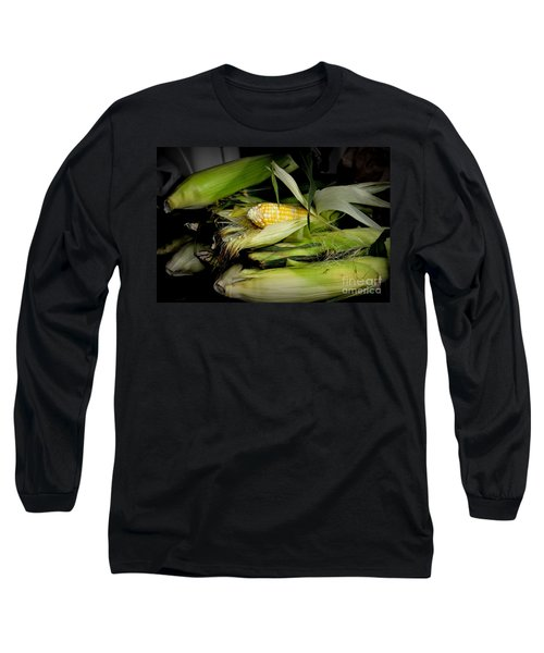 Organic Corn Long Sleeve T-Shirt