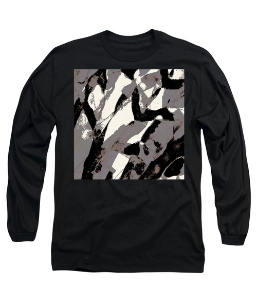 Organic No 2 Abstract Long Sleeve T-Shirt