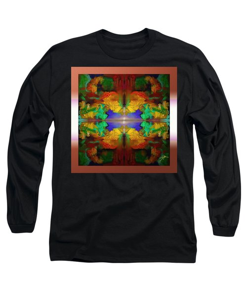 Oriental Gardens  Long Sleeve T-Shirt
