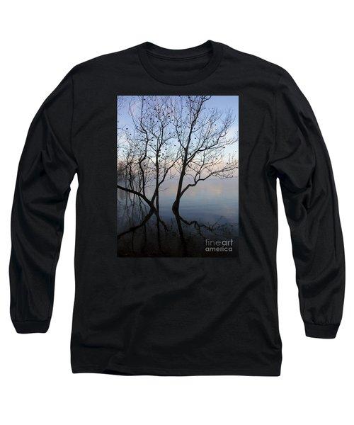 Original Dancing Tree Long Sleeve T-Shirt by Paula Guttilla