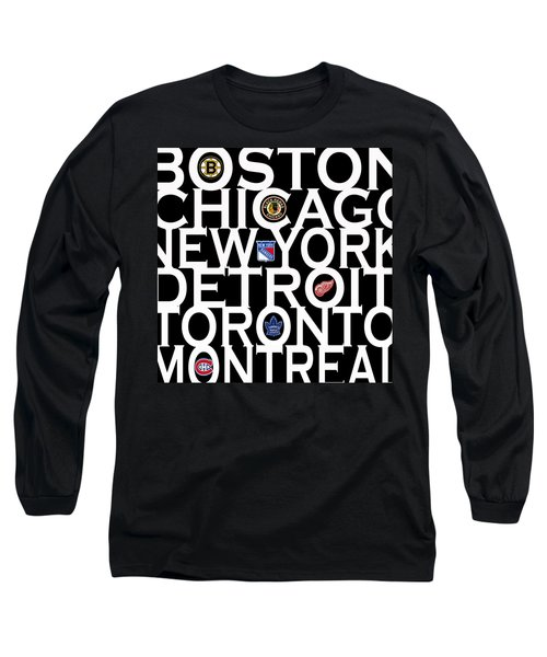 Original Six Long Sleeve T-Shirt