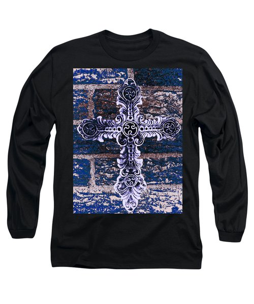 Ornate Cross 2 Long Sleeve T-Shirt