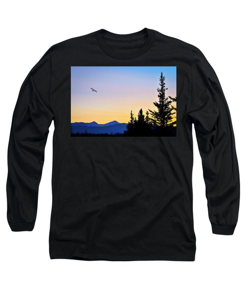 Osprey Against The Sunset Long Sleeve T-Shirt