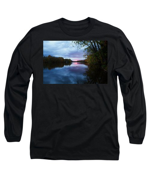 Oswego River Long Sleeve T-Shirt by Everet Regal