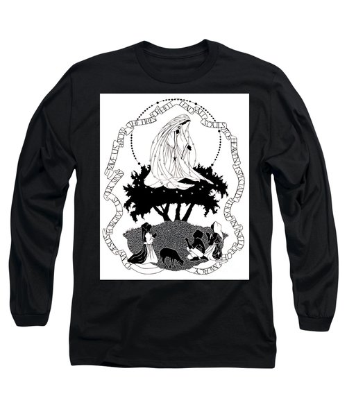Our Lady Of Fatima - Dpolf Long Sleeve T-Shirt