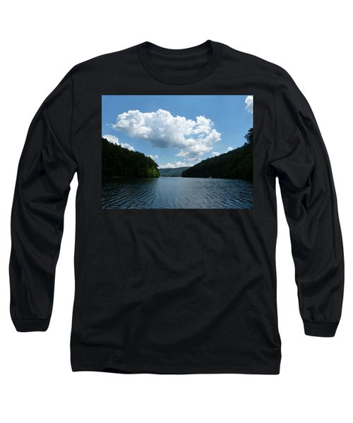 Out Of The Cove Long Sleeve T-Shirt by Donald C Morgan