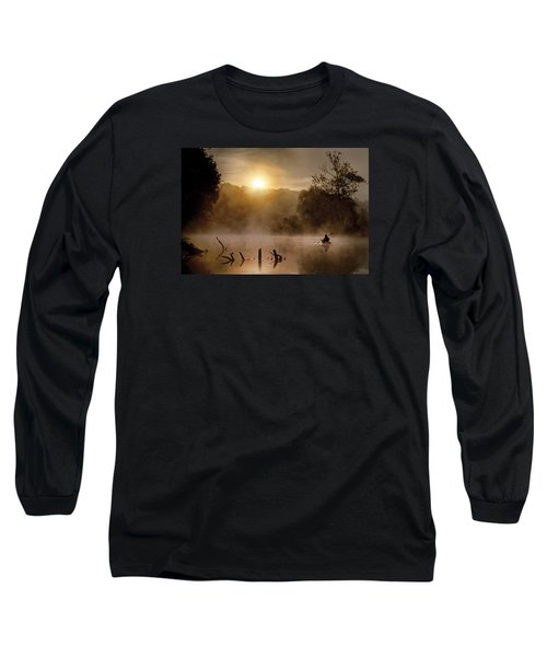 Out Of The Gloom Long Sleeve T-Shirt by Robert Charity