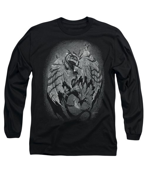 Out Of The Shadows T-shirt Long Sleeve T-Shirt by Stanley Morrison