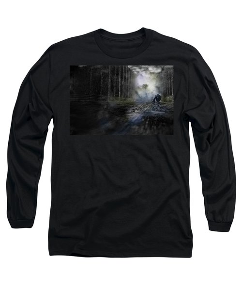 Long Sleeve T-Shirt featuring the photograph Out Of The Storm by Gray  Artus