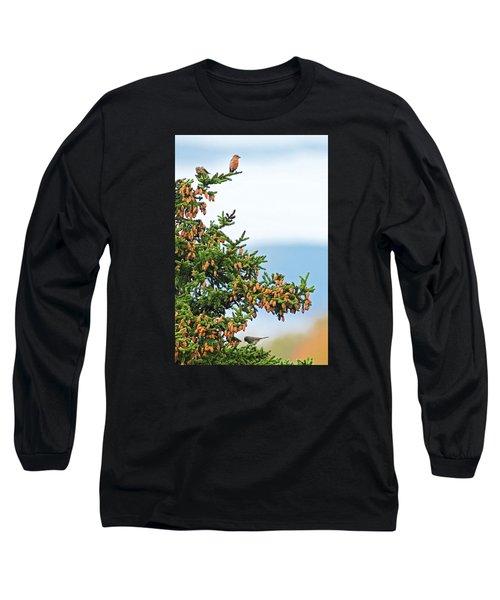 Out On A Limb # 2 Long Sleeve T-Shirt by Matt Plyler