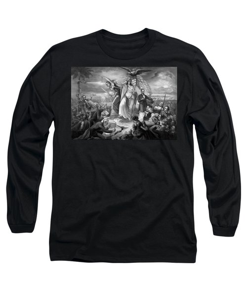 Outbreak Of Rebellion In The United States 1861 Long Sleeve T-Shirt
