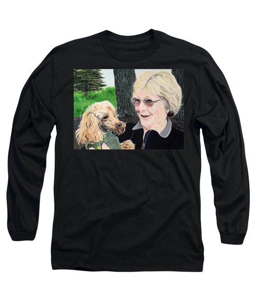 Outing With Peaches Long Sleeve T-Shirt